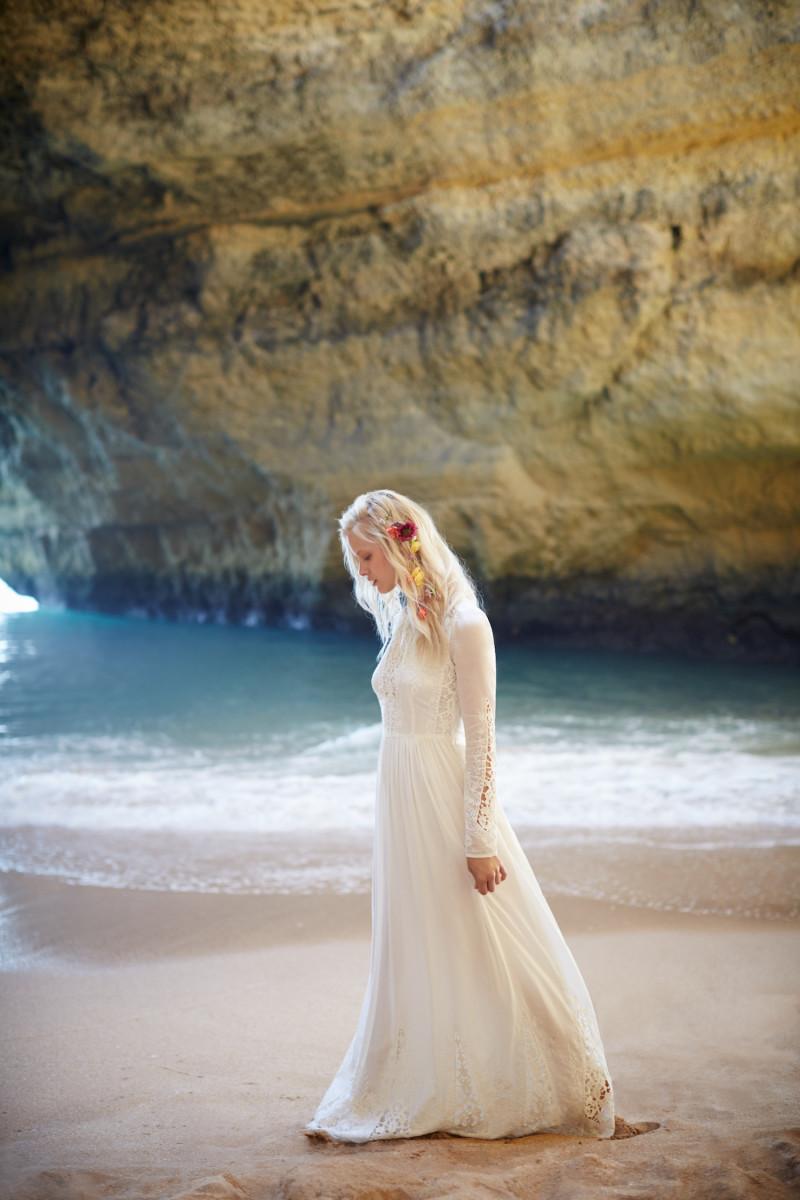 boho, wedding dress inspiration, spring 2016 bridal trends