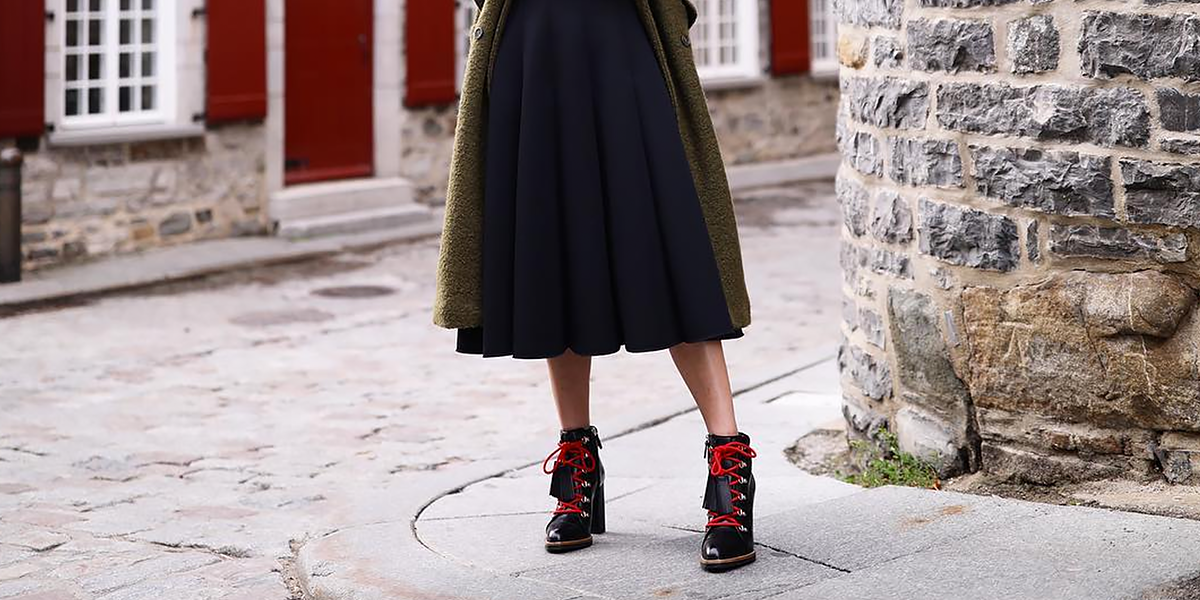Winter Boots with Skirts and Dresses