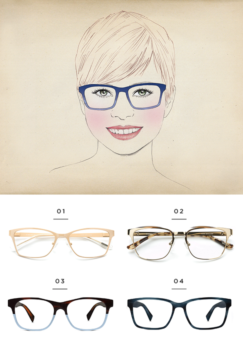 The Best Glasses For All Face Shapes Verily