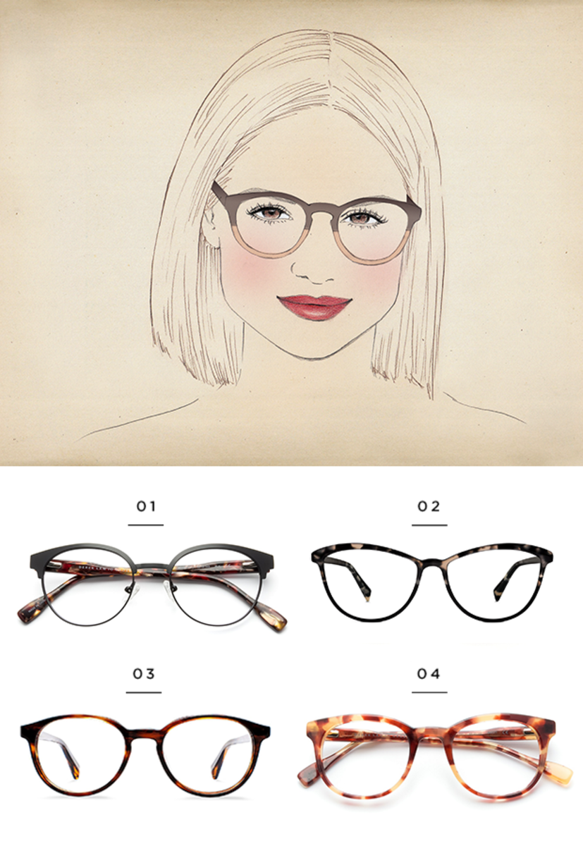The Best Glasses for All Face Shapes - Verily