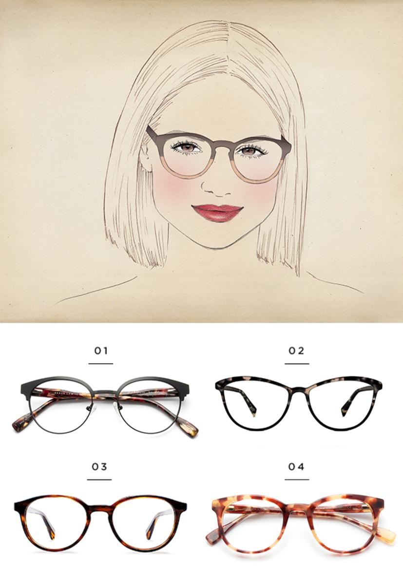 Superb The Best Glasses For All Face Shapes Verily Short Hairstyles For Black Women Fulllsitofus