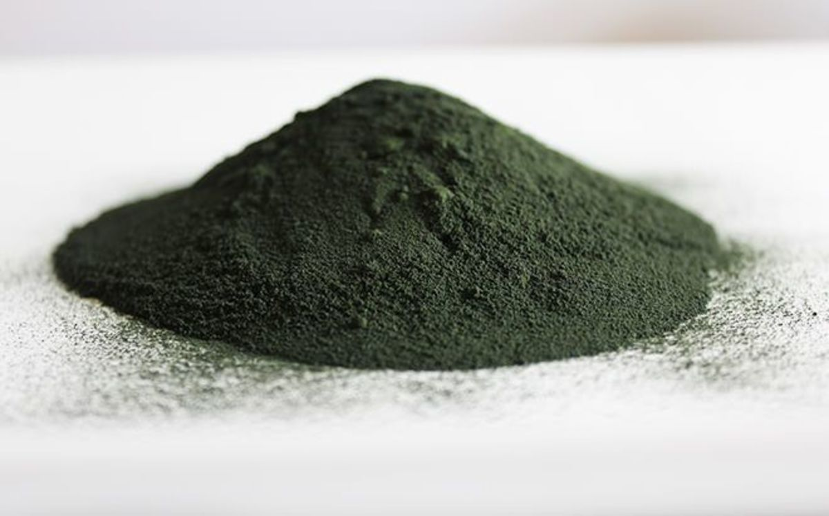 Nutrition Stripped spirulina powder