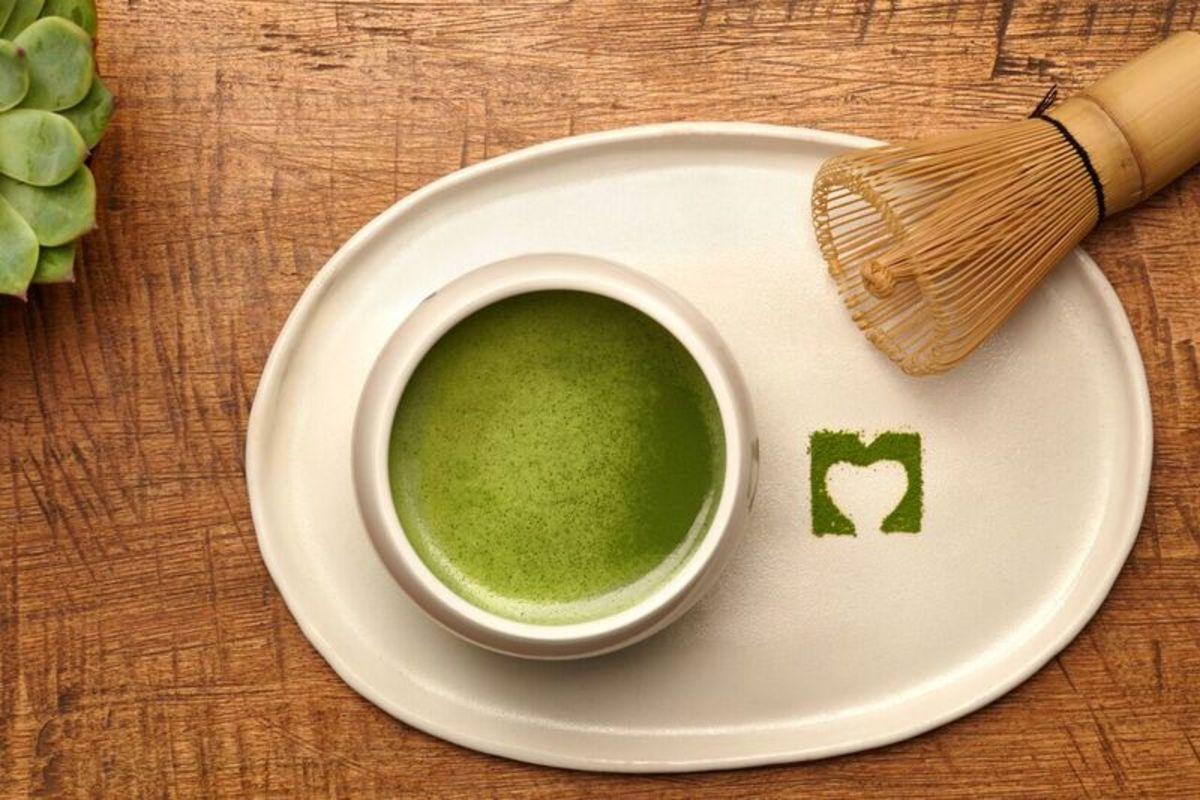 traditional matcha green tea