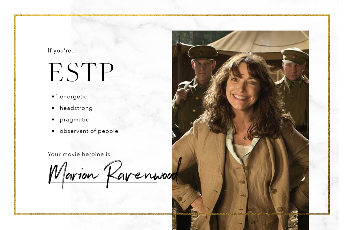 What Iconic Movie Heroine Are You, Based on your Myers-Briggs Type