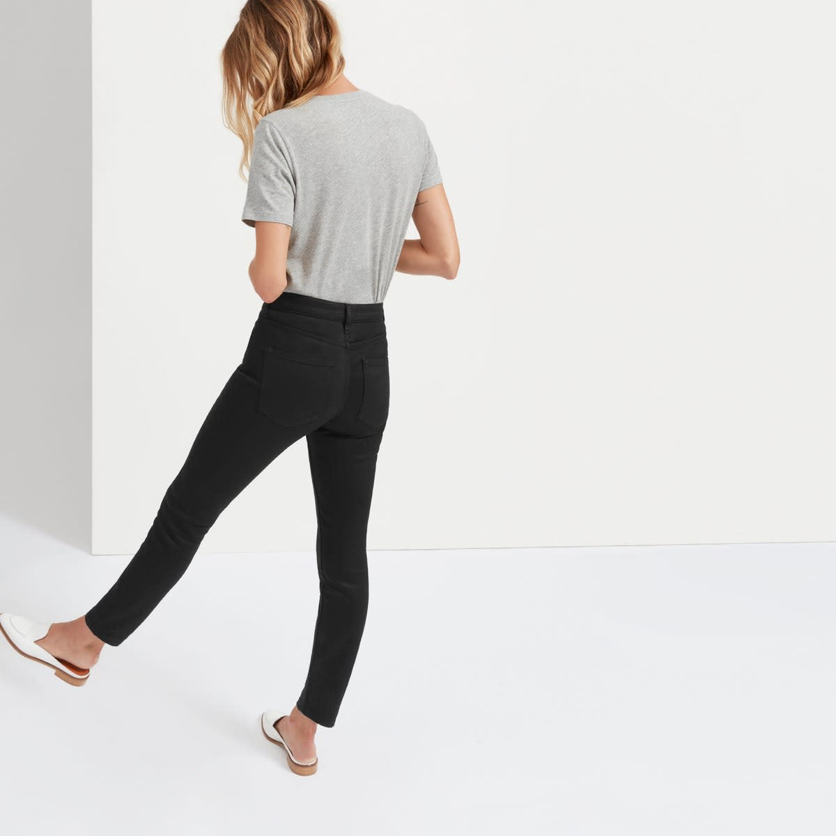 The Mid-Rise Skinny Jean (Regular), $68