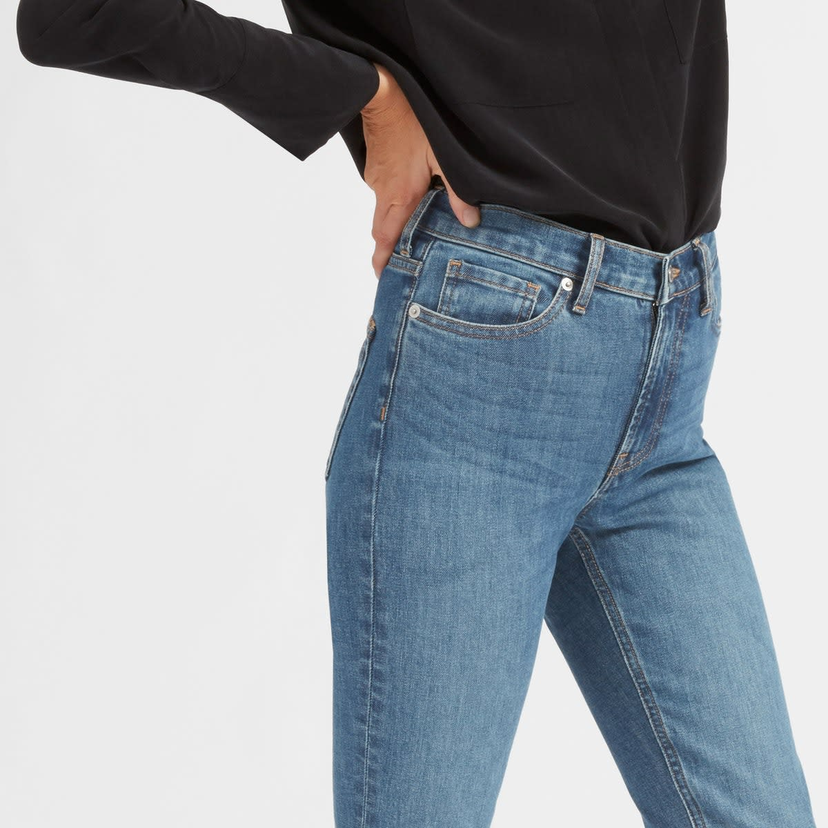 The High-Rise Skinny Jean (Regular), $68