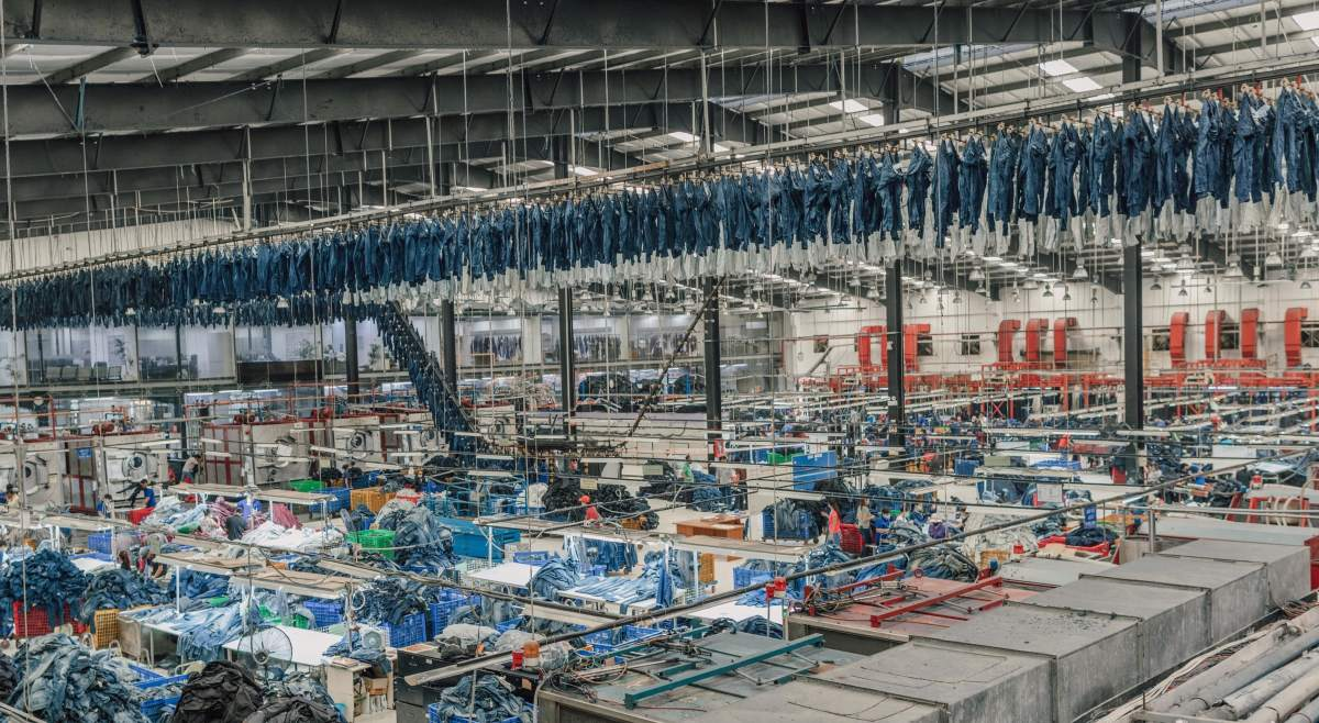 Everlane's denim factory in Southern Vietnam