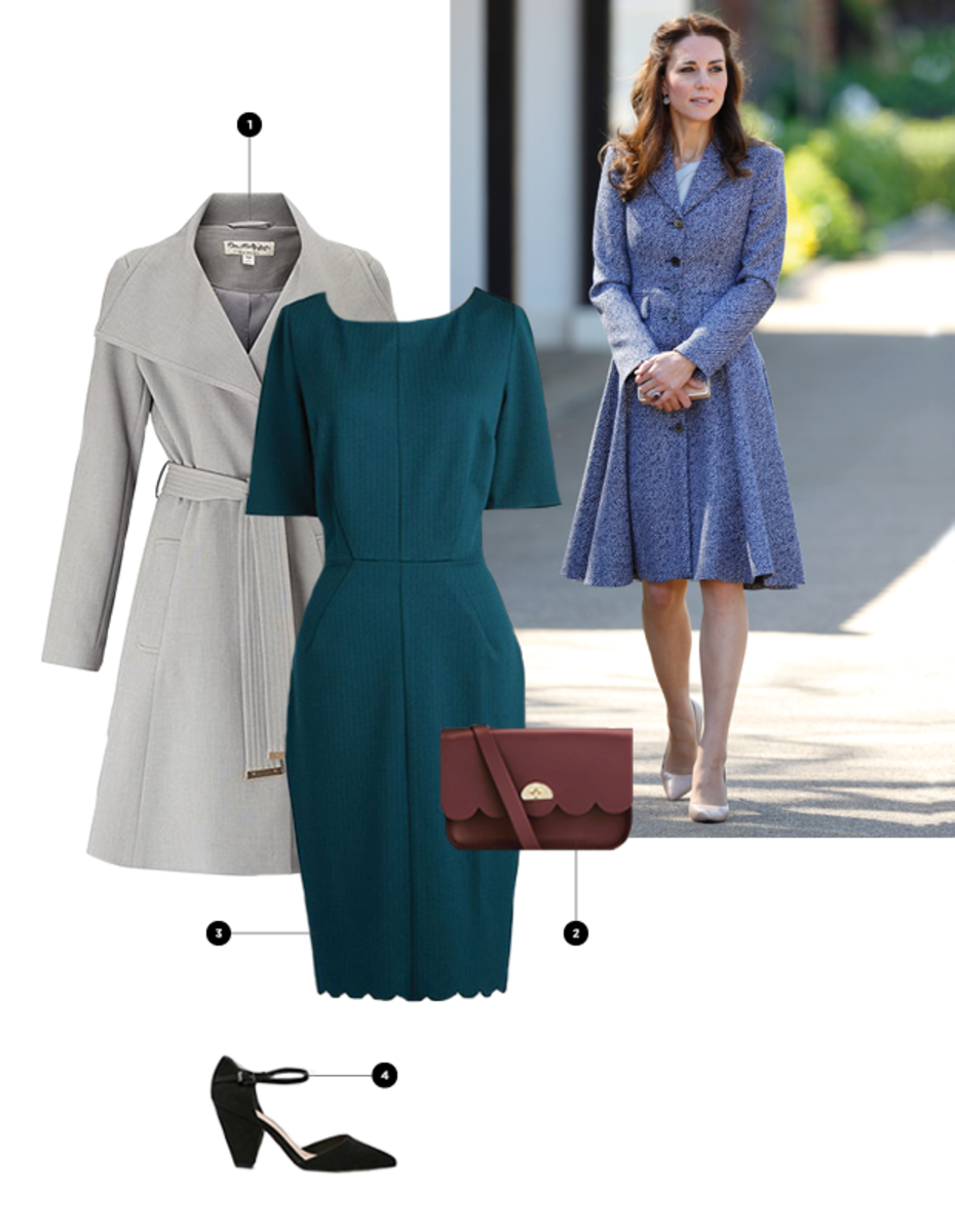 1. House of Fraser, $88 / 2. Cambridge Satchel Company, $210 / 3. ModCloth, $80 / 4. Asos, $45