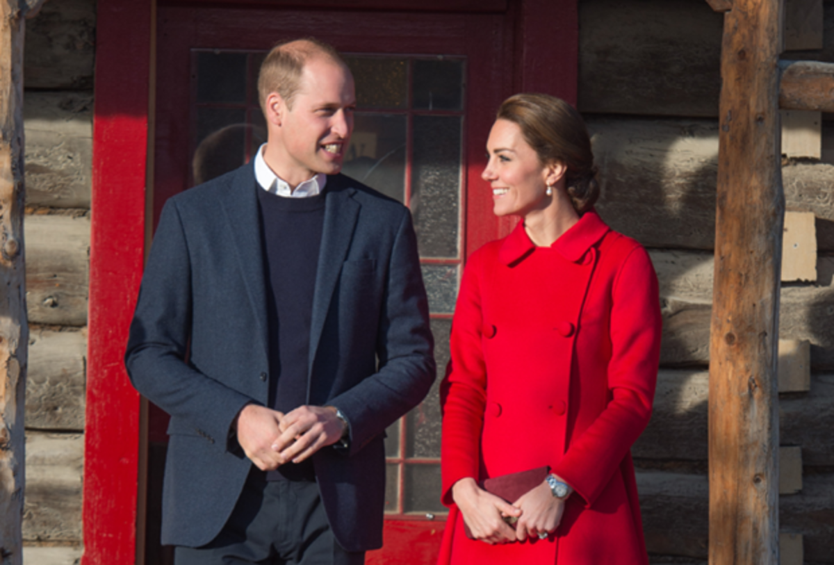 Prince William and HRH Kate Middleton