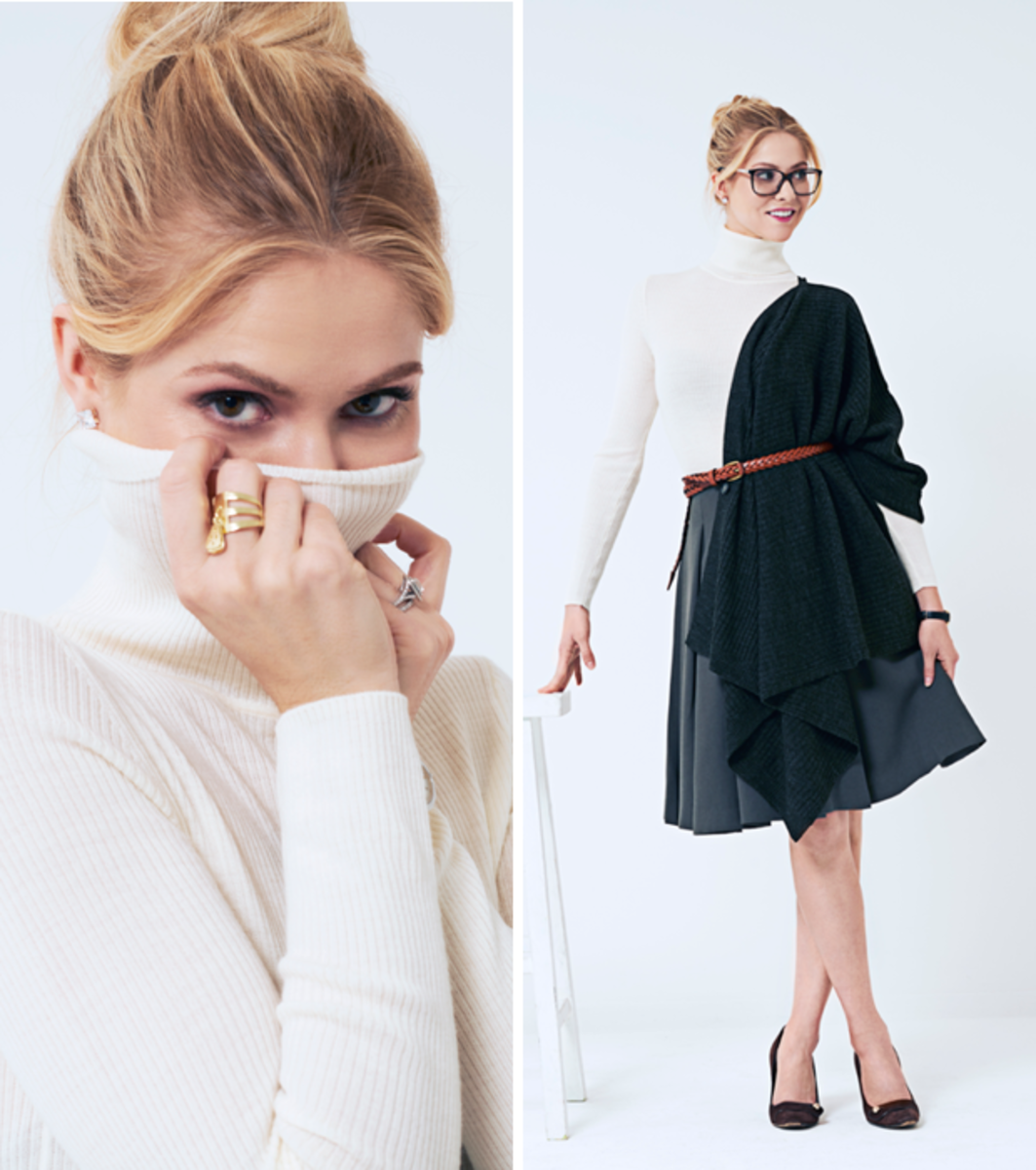 Kirsten Haglund, personal style, Uniqlo
