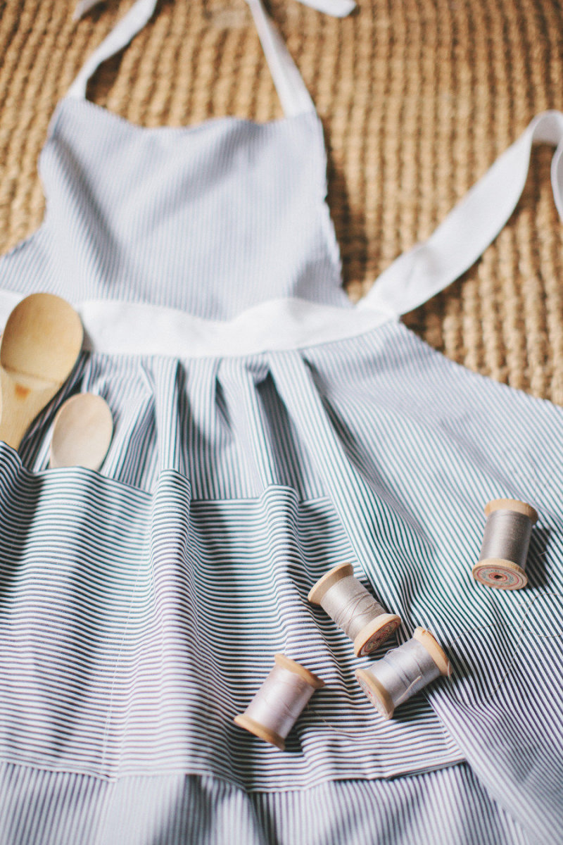 Style Me Pretty DIY Homemade Apron