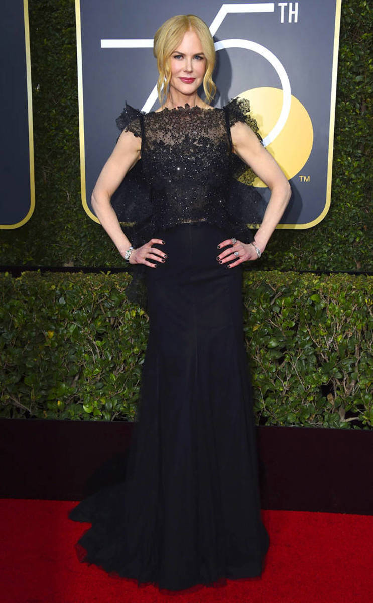 Nicole Kidman, Givenchy // Photo Credit: E! News