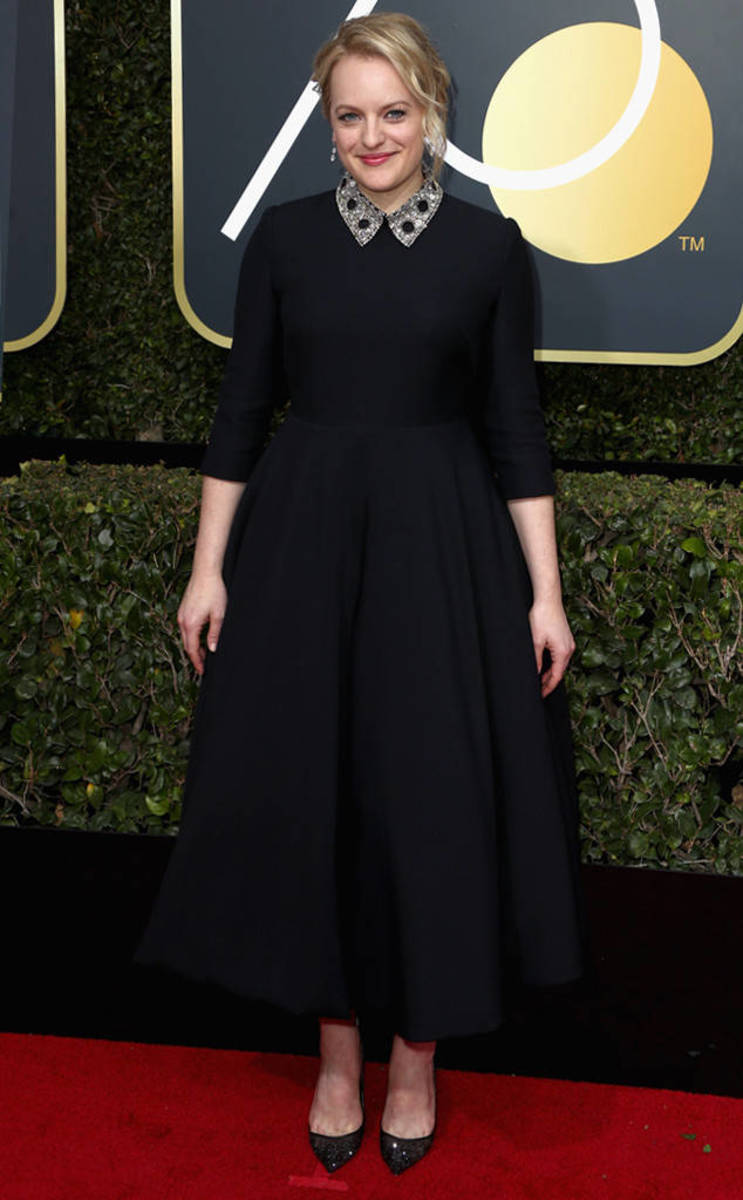 Elisabeth Moss, Dior // Photo Credit: E! News