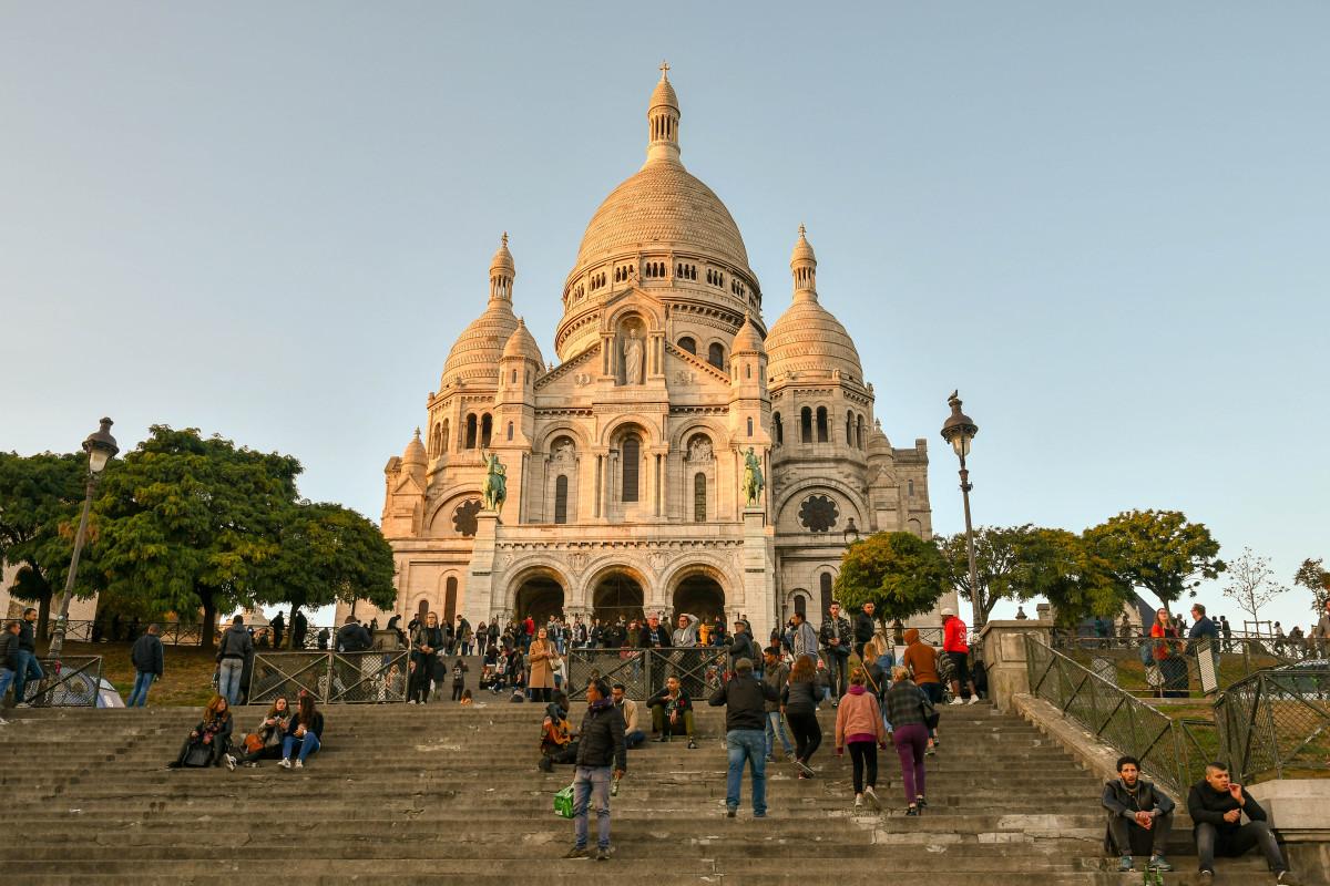 The Basilica of Sacré-Coeur de Montmartre
