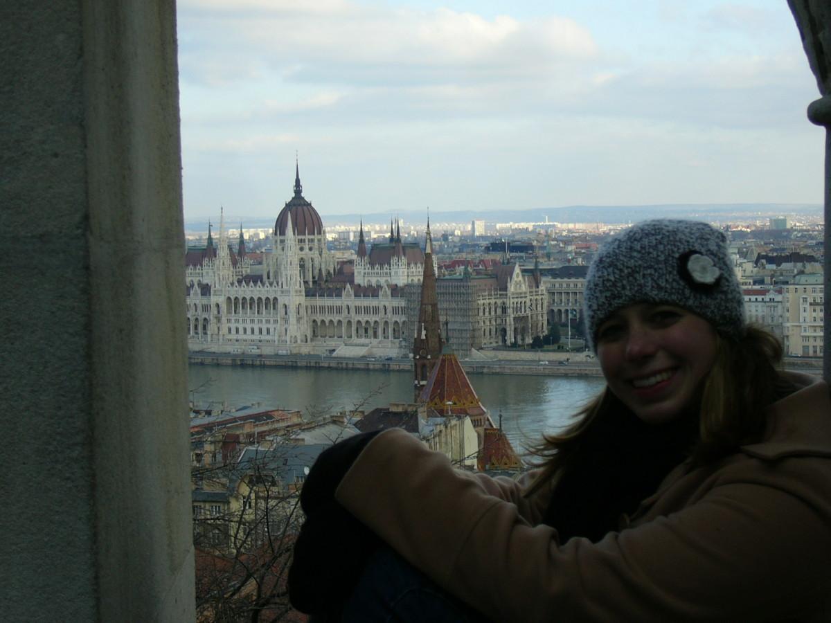 Sarah in Budapest